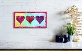 hearts wall art view diy paper heart hearts wall art