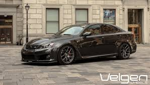 LEXUS ISF SHOWING SOME LOVE FROM CANADA CLICK HERE.... - Velgen Wheels