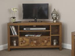 gfw jakarta mango wood effect corner tv