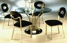 glass dining table set round room toronto awesome within metal tables designs