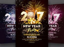 New Year Flyer By Stylewish - Dribbble