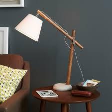 task lamp black wood task lamp