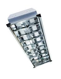 2x40 louver housing recessed led