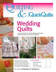 Free ebook -- Fat Quarter Quilting Patterns from McCall's Quilting ... & Free downloadable eBook of 3 wedding quilt patterns from McCall's Quilting. Adamdwight.com