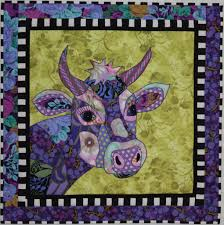 BJ Designs & Patterns Jersey Girl Cow Applique Quilt Pattern &  Adamdwight.com