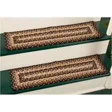 braided rugs stair treads beautiful yankee rugs furniture