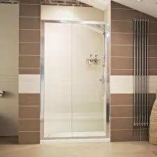 lumin8 sliding door shower enclosure