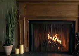 free standing fireplace screens glass fireplace screen free standing glass fireplace screens with doors screens with