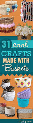 best images about fun crafts fun crafts 31 cool crafts made baskets
