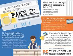 Dc Id Student - Defense Charged Now Fake Are Of With What A You Possession