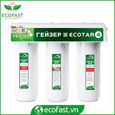 Máy lọc nước nano Geyser ECOTAR 4 made in Russia | Thế giới lọc nước Ecofast