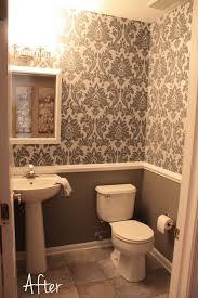 chair rail bathroom. Plain Chair Bathroom Accessories Chair Rail Bathroom Modern Brown Small Downstairs  Like The Wallpaper On