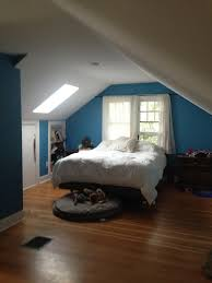 A Cramped Attic Space Gets Opened Up Front Main - Attic bedroom