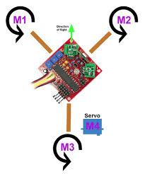 kk tricopter setup guide rcexplorer motorstri