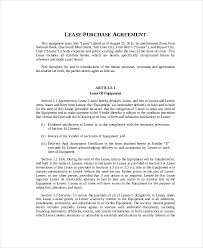 lease purchase contract. Plain Contract Blank Lease Purchase Agreement On Contract P