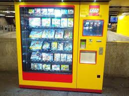 Lego Vending Machine Delectable Munich Lego Vending Machine Vended Convenient Hootinany