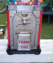 Eagle Vending Machine Adorable Vintage 48 Cent EAGLE Vending Gumball Machine Key Works 48