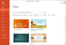 Powerpoint Custom Templates How To Make Custom Templates Appear On Powerpoint 2013 Start Screen
