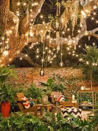 Best 25 Backyard Decorations Ideas On Pinterest  Home And Garden Christmas Lights In Backyard