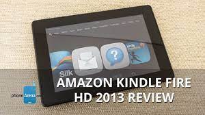 Amazon Kindle Fire HD 2013 Review - YouTube