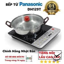 Mã 77ELSALE hoàn 7% đơn 300K] [Tặng Kèm Nồi Lẩu] Bếp Từ PANASONIC DH129T  Cao Cấp - Bếp điện kết hợp Nhãn hàng Panasonic