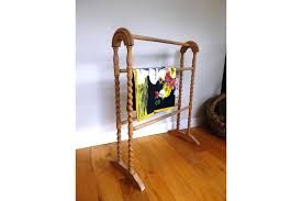 wood towel stand. Beech Wooden Towel Stand Or Bathroom Tidy Vintage Antique Linen Photo 1  Singapore . Wood