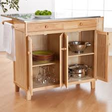 Interesting Portable Kitchen Island With Stools Islands On Wheels Building Intended Design