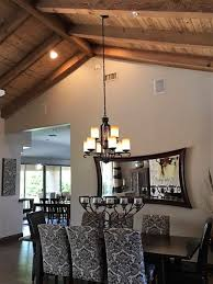 hanging rectangular chandelier with 2 wires on sloped ceiling quoet 0