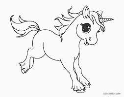 Printable drawings and coloring pages. Unicorn Coloring Pages Cool2bkids