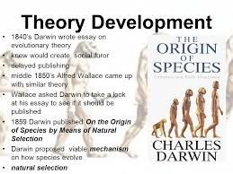 evolution ppt video online  14 theory development 1840 s darwin wrote essay on evolutionary theory