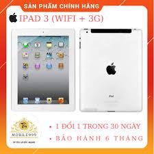 Máy tính bảng Apple iPad 3 Cellular - Hàng cũ - 64GB, Wifi + 3G/ 4G, 9.7  inch, Giá tháng 3/2021