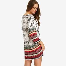 Bohemian Dress Patterns Unique Design
