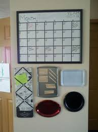 Family Memo Board Family planner wall finally done YAY Homemade dry erase 10