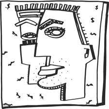 Small Picture Image result for picasso colouring pages Picasso for kids