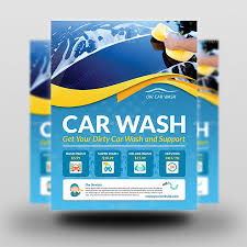 Car Wash Flyer Template Car Wash Services Flyer Templates By OWPictures GraphicRiver 7