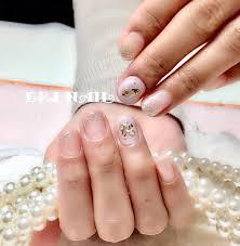 名古屋市天白区プライベートサロンeri Nailさんのネイルデザイン 春色
