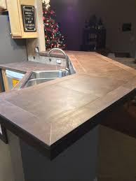 Tile Countertop Kitchen Tile Countertoplove The Sign Pinteres