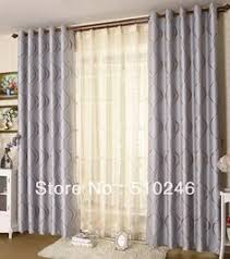 Double rod curtain ideas Ikea Grey Grommet Curtains Double Rod Curtains Grommet Curtains Blackout Curtains Window Blinds Pinterest 14 Best Double Rod Curtains Images Double Curtains Double Rod