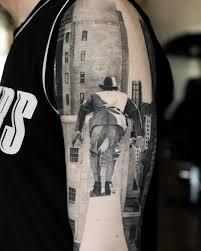 черно белые тату 100 фото идей для девушек и мужчин эскизы значение