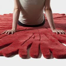excellent picture of decorative shaped rug for living room and home interior accessories and decoration