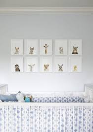 nursery wall art ideas