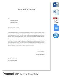Sample Cover Letter For Promotion Within Company Cover Letter For ...