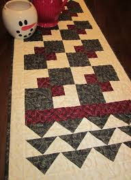 241 best Quilts-Thimbleberries images on Pinterest | Tables ... & Thimbleberries Quilt Club 2013 Christmas Party Runner 20