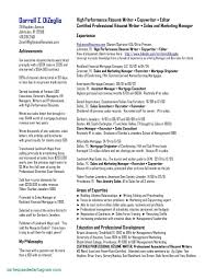 Sales Resumes Examples Lovely New Bartender Resume Example Template