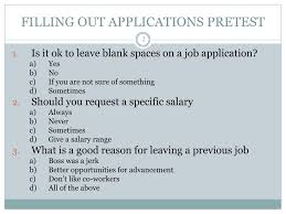 Good Reasons For Leaving A Job On An Application Ppt How To Fill Out A Job Application Powerpoint
