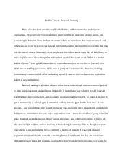 essay hidden talent final draft hidden talent personal essay 1 hidden talent final draft hidden talent personal training many of us are born into this world distinct hidden talents that embody our