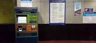 Metro Ticket Vending Machines New Delhi Metro To Install Ticket Vending Machines At Stations In Place