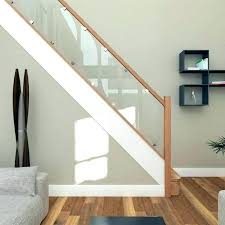 staircase railing design with glass stairs railing design glass stair railing best oak handrail ideas on