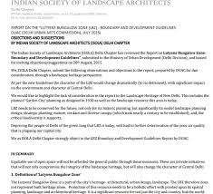 newsletters n society of landscape architects response to lbz guidelines