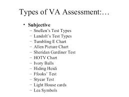 Allen Eye Chart Principle Of Visual Acuity Charts Class